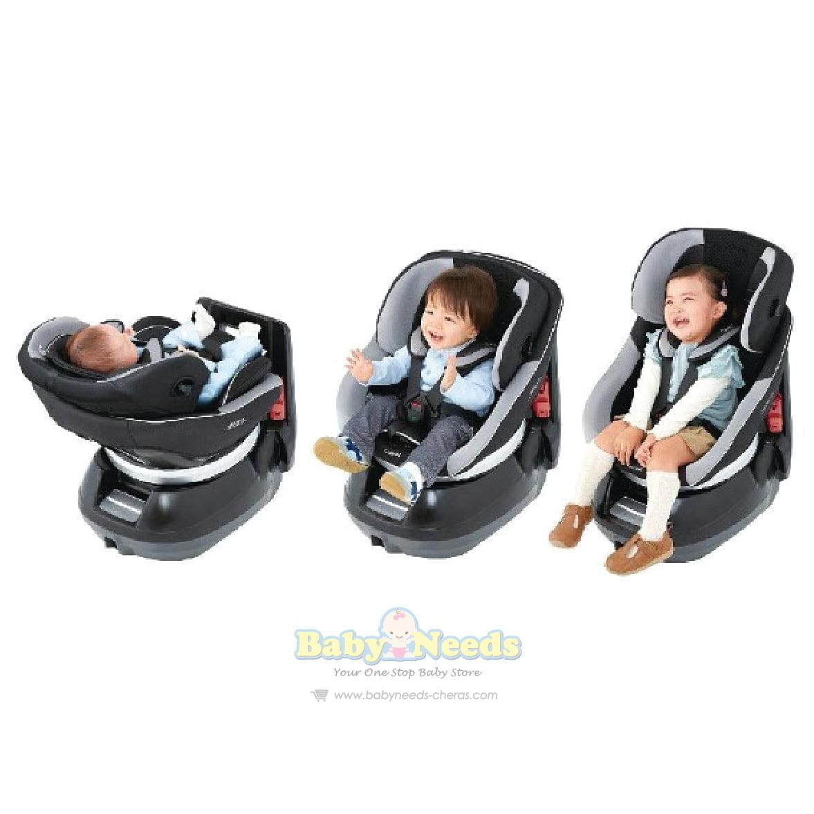 Combi Cradling 360 Convertible Car Seat Baby Needs