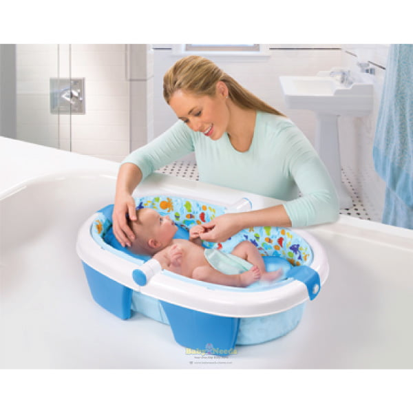 Summer Infant Newborn Toddler Fold Away Baby Bath
