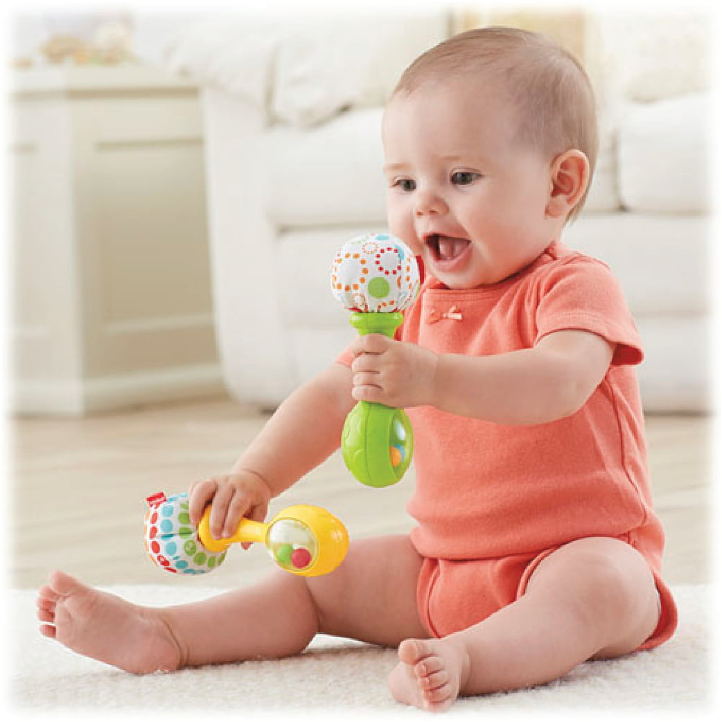 fisher price newborn maracas 2 pcs baby needs online store malaysia. Black Bedroom Furniture Sets. Home Design Ideas