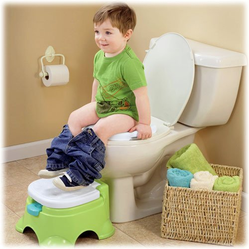 Fisher Price Royal Stepstool Training Potty Seat Baby