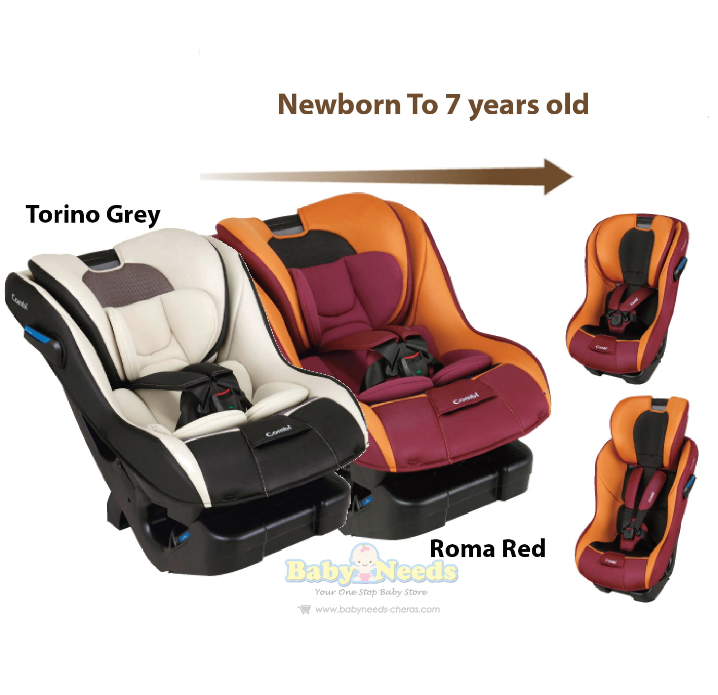 Combi Malgott S Convertible Car Seat Baby Needs Online Malaysia