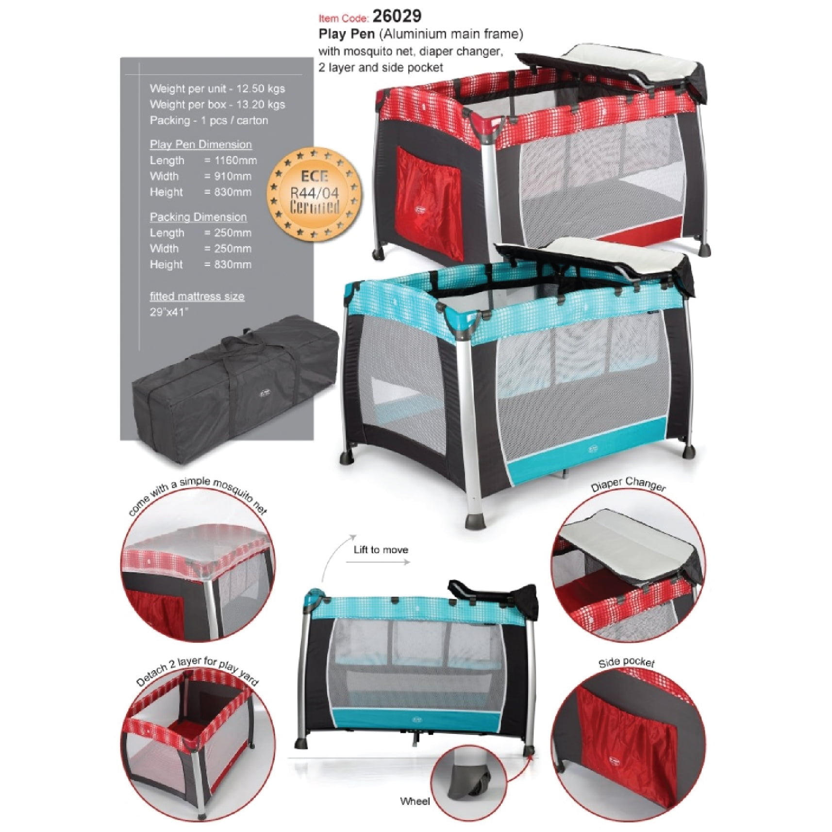 Baby bed online malaysia - My Dear Playpen With Diaper Changer Station 26029 Baby Needs Online Store Malaysia