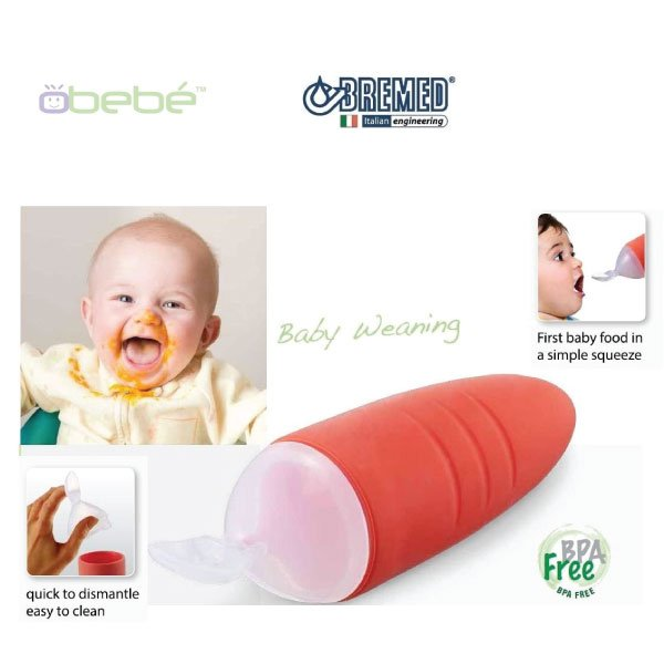 Bremed Baby Food Dispensing Spoon