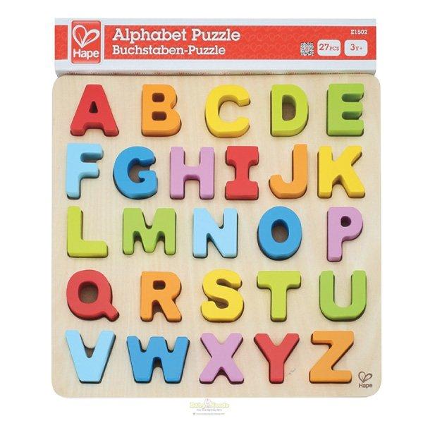 Hape Alphabet Puzzles Uppercase 26pcs Baby Needs