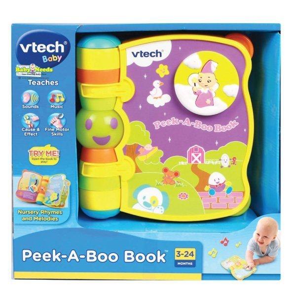 Vtech Peek A Boo Book Baby Needs Online Store Malaysia