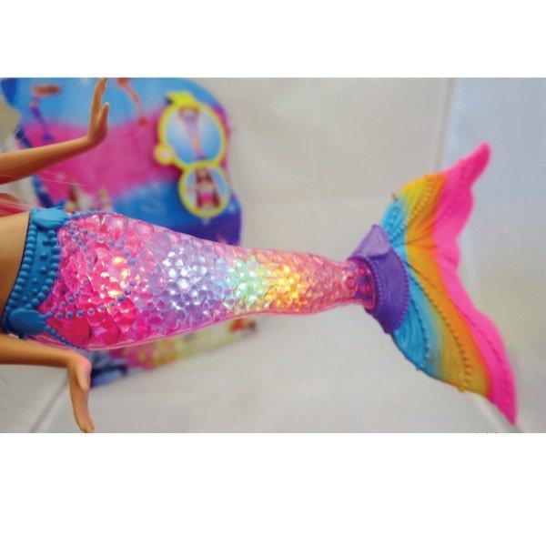 Barbie Rainbow Lights Mermaid Doll Baby Needs Online