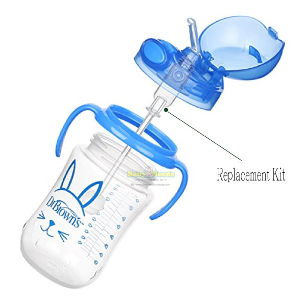 Dr Brown S Baby S First Straw Cup Replacement Kit 1pcs